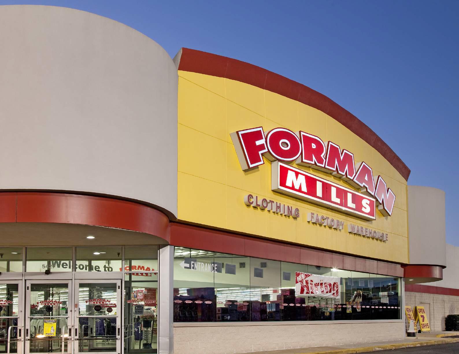 Catonsville Plaza Forman Mills