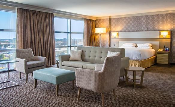 Hilton Melbourne - Guest Room